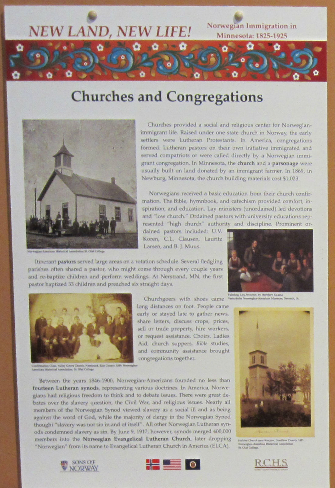 NL NL Panel Churches and Congregations