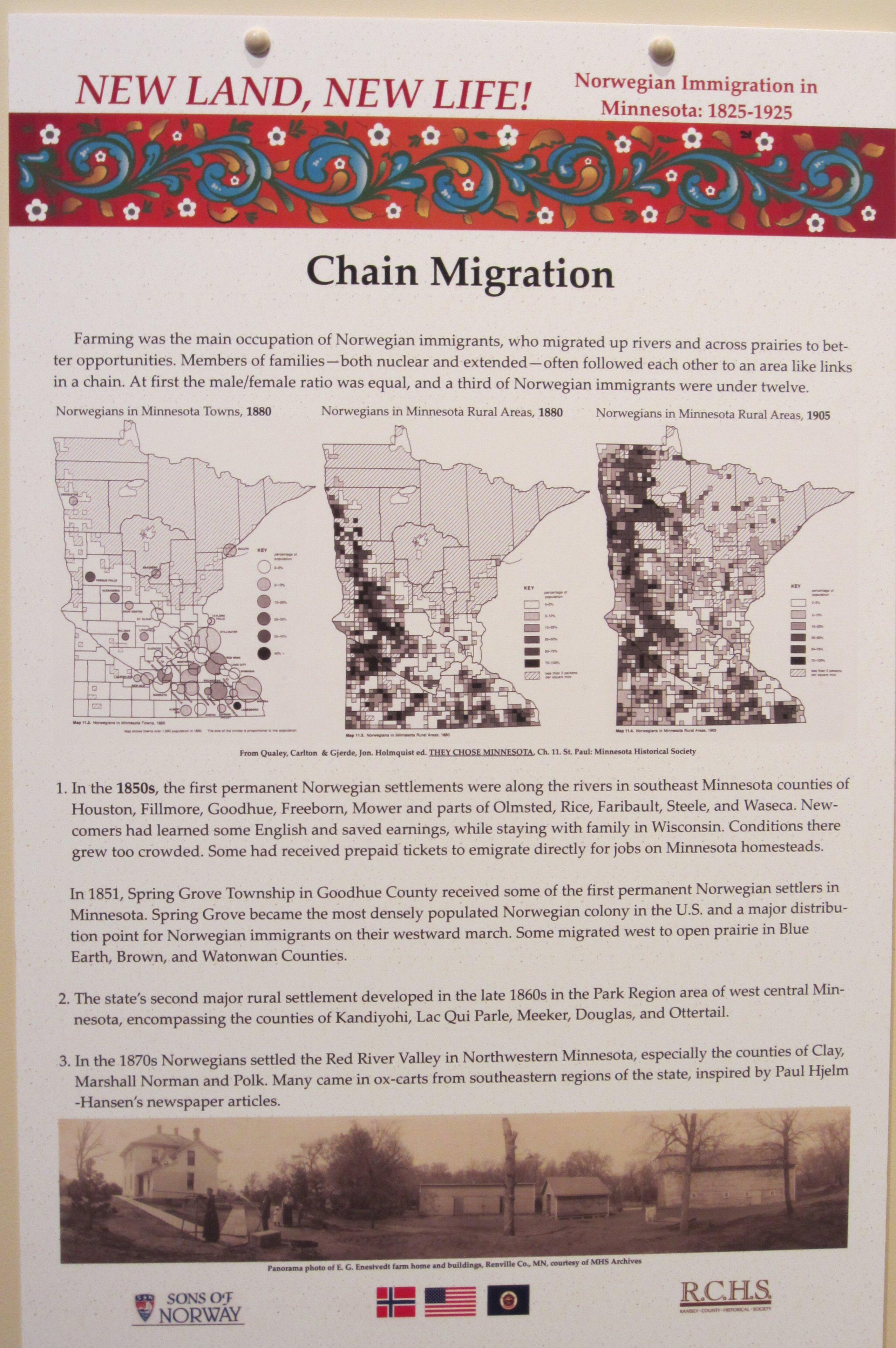 NL NL Chain Migration